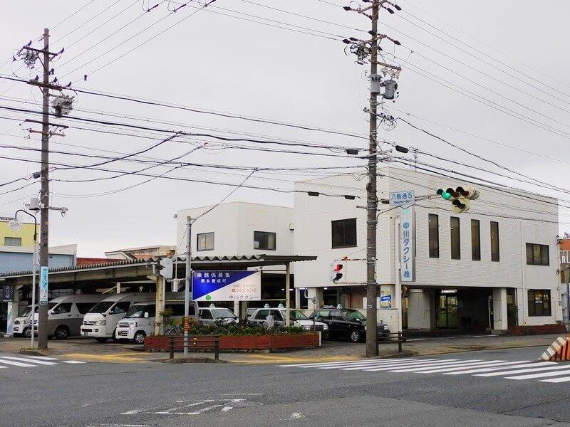 中川タクシー社屋