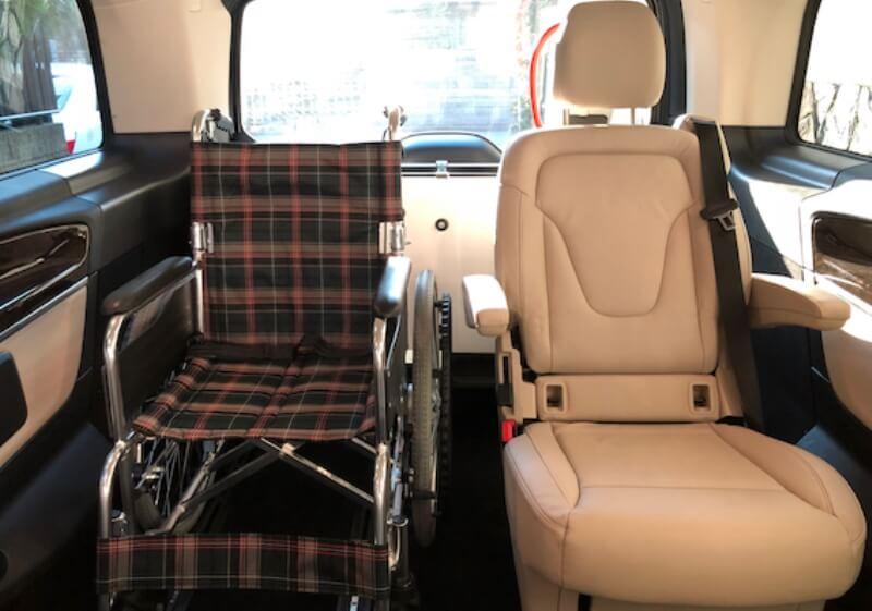 車いす乗車時のイメージ