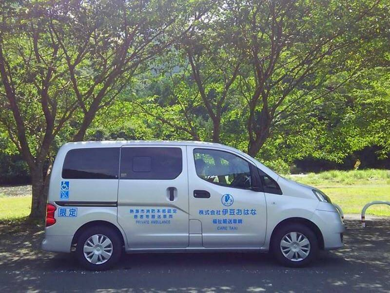 NV200車両側面