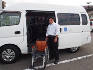 かえでちゃんタクシー島田さん