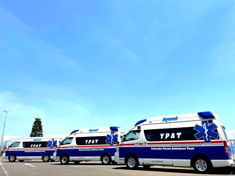 救急車仕様のハイエース