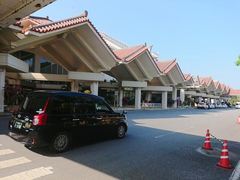 宮古島空港とJPN TAXI