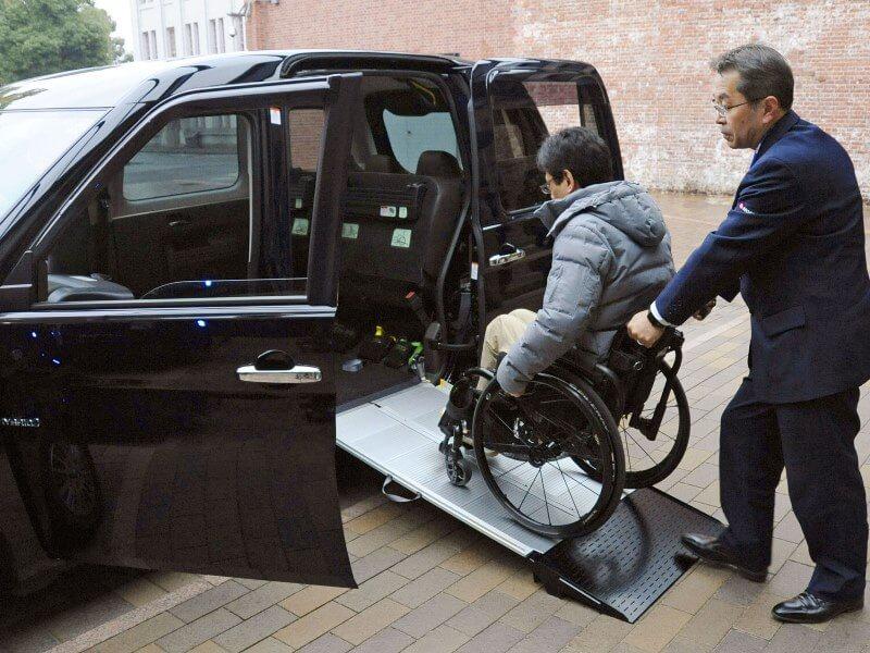 JPN TAXI車いす介助