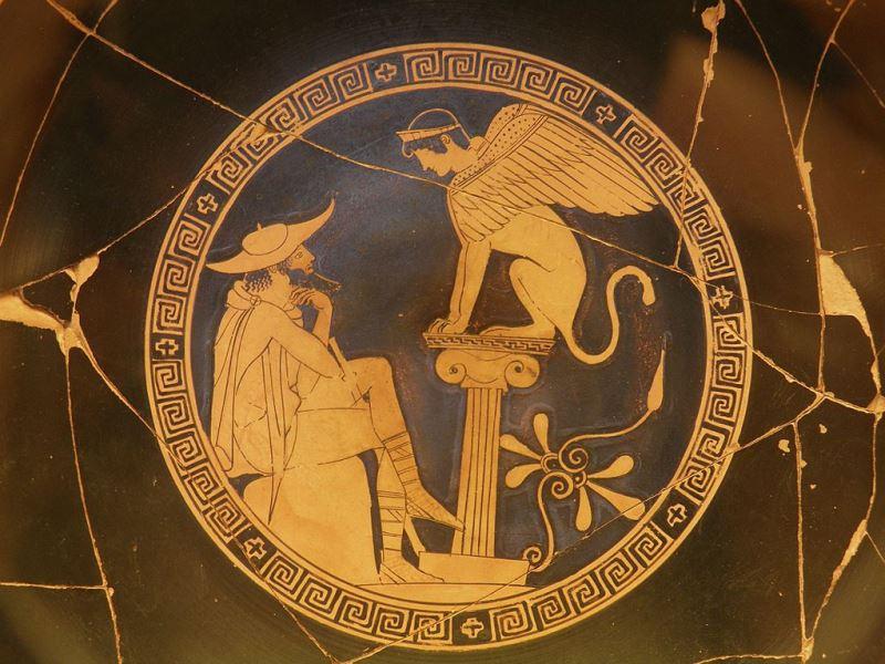 スフィンクスとオイディプス