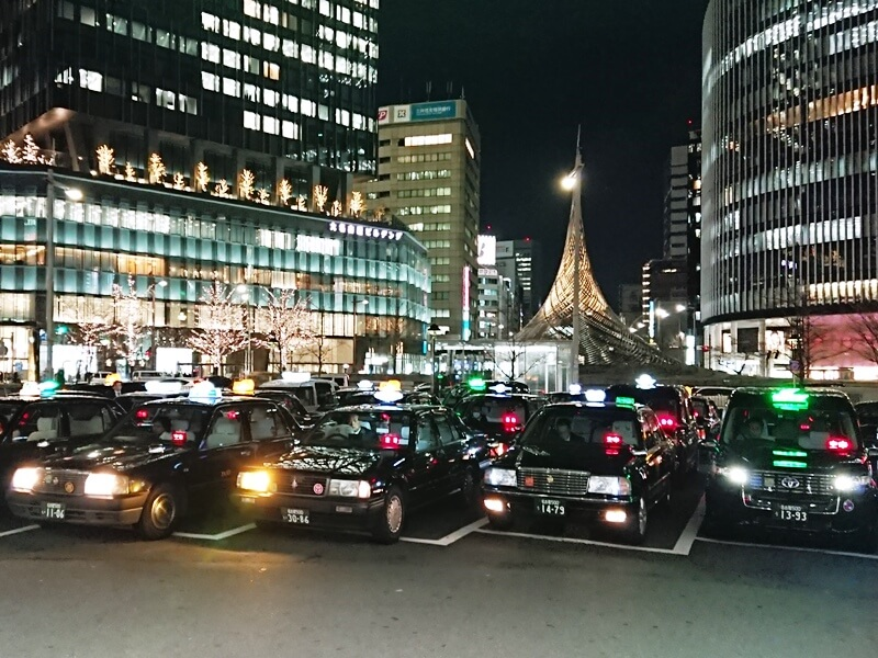 名古屋駅タクシー乗場