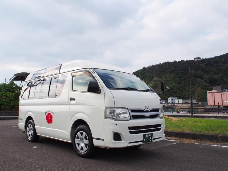 瀬戸内タクシーの介護車両