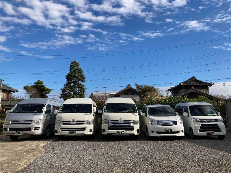 彩福祉タクシーの車両5台
