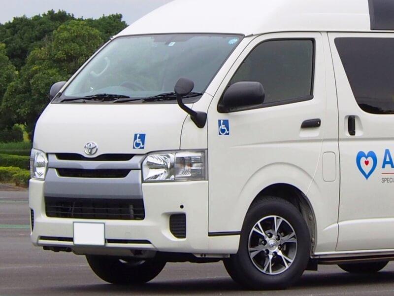介護タクシーの国際シンボルマーク