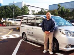 福祉タクシーふれあいの丘 代表の石田さん