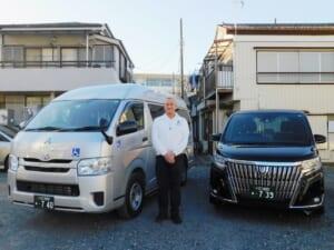 アスモ介護タクシー川口の阿部さん