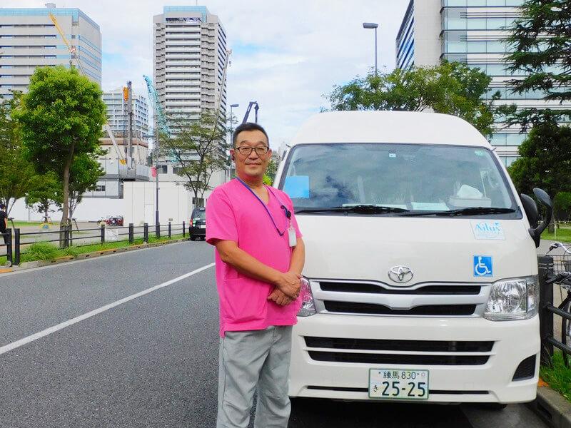 ケアドライバーの太田さん